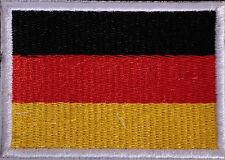 Applikation zum Aufbügeln Bügelbild Aufnäher Deutschland Fahne Flagge PA1
