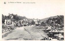 CARTOLINA - La Roccia in Ardennes - Hotel de ville e grande rue