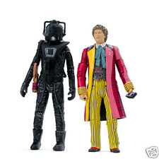 Doctor Who Exclusive - The Sixth Doctor & Stealth Cyberman Collectors Set - NEW