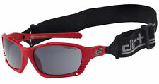 DIRTY DOG FURIOUS WATER SPORTS POLARISED WET GLASS SUNGLASSES 53194 RED/GREY