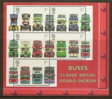 GB 2001 Buses Min.Sheet MNH