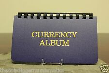 3 Currency Album Whitman H.E.Harris Modern & Standard Size Removable 10 pages