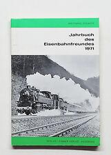 Jahrbuch des Eisenbahnfreundes 1971