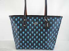 NWT $295 COACH Badlands Floral City Zip Tote Handbag...Midnight Multi...38161