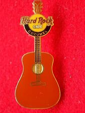 HRC Hard Rock Cafe Cozumel Brown Vertical Acoustic Guitar LE300