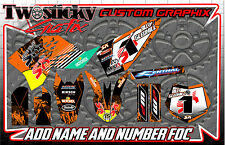 KTM 125/150/250/350/450  MOTOCROSS MX GRAPHICS STICKERS   ALL YEARS