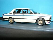BMW M535i (E12) 1977 New Neo White with M series decal set 1:43rd. Scale Rare