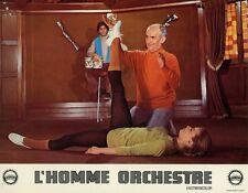 LOUIS DE FUNES L'HOMME ORCHESTRE 1970  PHOTO D'EXPLOITATION ORIGINALE N°5