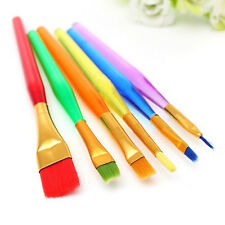 6x Cake Icing Decorating Painting Brush Fondant Sugarcraft DIY Tool Set