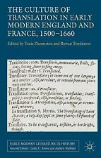 Early Modern Literature in History: The Culture of Translation in Early...