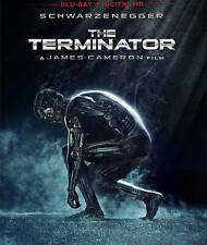 Brand New Sealed The Terminator (Rare Red Case) Blu-ray Disc + Digital HD UV