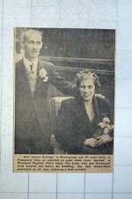 1949 Miss Louisa Hollings Of Birmingham Marries Mr John Kelly Of Plumstead