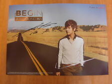 JUNG DONG HA - Begin  [OFFICIAL] POSTER K-POP *NEW*