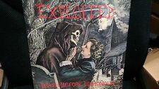 THE EXPLOITED - Death Before Dishonhour LP (Wattie) Sexual Favours Punk Rock