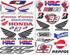 2SHEET. HONDA WING CRF RACING HRC STICKER PRINTED DIE-CUT MOTOR SPORTS BIKE