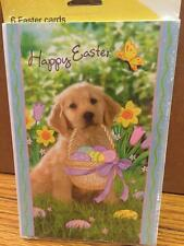 """Lot 36 """"Just For You"""" Brand NEW EASTER Greeting CARDS Golden Retriever"""