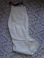 BNWT SAVIDA white cotton bootcut  - Size 16  (J82)