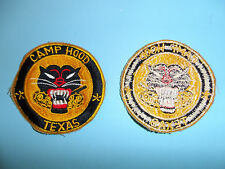 b2975 WW 2 US Army Tank Destroyer patch Camp Hood Texas