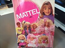 RARE MATTEL GIRLS TOYS TOY FAIR CATALOG 1991 BARBIE LITTLE PRETTY DISNEY TAPSIE