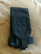 Black M16 M4 Carbine Buttstock Stock Rifle Single Mag Pouch SOCOM USGI USMC