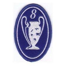 [Patch] CHAMPIONS LEAGUE numero 8 replica cm 5 x 7,5 toppa ricamata ricamo -212