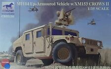 BRONCO CB35136 M1114 Up-Armoured Vehicle w/XM153 Crows II in 1:35