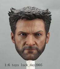 HOT TOYS The Wolverine 2013: Wolverine Hugh Jackman Head 1/6 MMS220