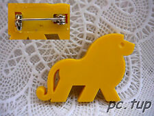 Gadget Miniature Tupperware : Badge / Épinglette / Pin's  - Lion jaune