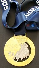 Sochi 2014 Olympic Gold Medal with Silk Ribbon