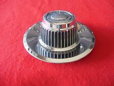 GM CHEVY CORVETTE Custom Ralley Wheel Center Cap Chrome Finish 71-1012S  NEW