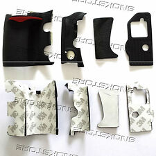 4 pieces RUBBER COVER UNITS COMPLETE RUBBER GRIP REPAIR PART FOR NIKON D300 NEW