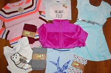 NWT Girls 5-6 HUGE 9 Piece Fall Winter Lot NICE Items CRAZY 8 TCP