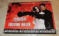 FULLTIME KILLER movie poster  ASIA EXTREME (2003) uk quad movie poster