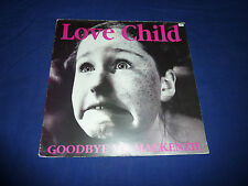 "12"" VINYL - GOODBYE MR MACKENZIE (GARBAGE) - LOVE CHILD - UNPLAYED"