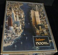 JUST IMAGINE EAST MEETS WEST TWIN TOWERS NEW YORK 1500 PCE JIGSAW PUZZLE L-41
