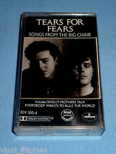 PHILIPPINES:TEARS FOR FEARS - Songs From The Big Chair,TAPE,Cassette,RARE,TFF