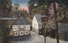 Postkarte - Sächsische Schweiz / Amselgrund - Rathewalder Mühle
