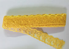 10 yards Delicate Embroidered flower tulle lace trim Sewing Handicrafts DIY FL60