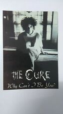The Cure why can't I be You vintage music postcard POST CARD