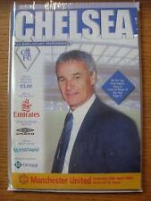 20/04/2002 Chelsea v Manchester United  (Good Condition)
