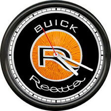 Buick Reatta Dealer Sales Service Parts Showroom Automobile Sign Wall Clock