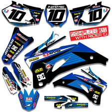 2006 2007 2008 2009  YAMAHA YZ 250F - YZ 450F GRAPHICS KIT MOTOCROSS MX DECALS