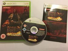 XBOX 360 GAME HELLBOY THE SCIENCE OF EVIL +BOX INSTRUCTIONS COMPLETE PAL