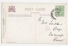 Mrs Laidlaw Cefn Bryn Swanage Dorset 1907 335a
