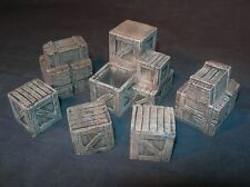 1/35 Scale  - Boxes / stowage pack Diorama or vehicle accessories