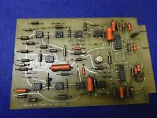 Monarch Machine Tool Printeed Circuit Board Assy # 50304