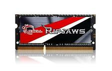 8 Go Mémoire DDR3 G.Skill RipjawsX 1600MHz SO-DIMM  CL11 Basse tension 1.35V