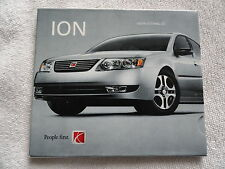 2005 Saturn Ion  CD Owners Manual Supplement