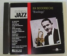 BIX BEIDERBECKE  (CD) BIXOLOGY -  GENIES DU JAZZ N° 7