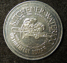 "1980 Kitchener Waterloo ""The Centre in..."" Oktoberfest Dollar Token Coin SB3584"
